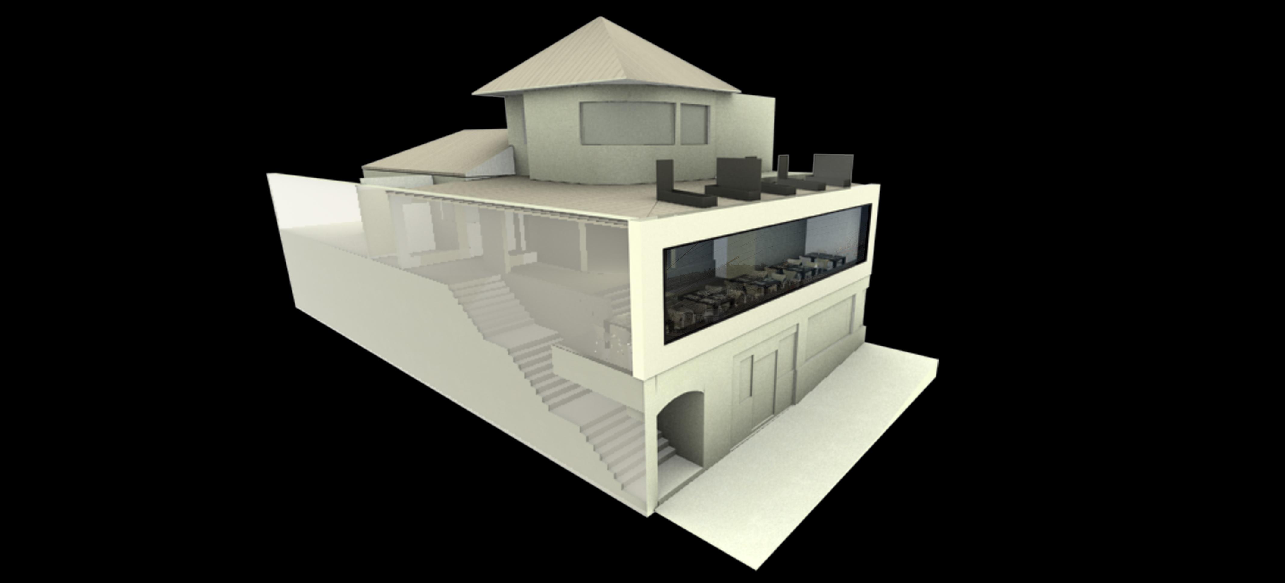 Render 4 jpe arquitectura for Oficina correos logrono